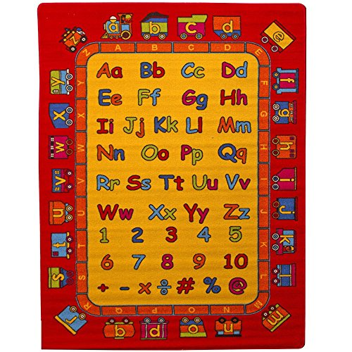 "Kids Rug ABC Fun Area Rug 4'11"" x 6' 10"""