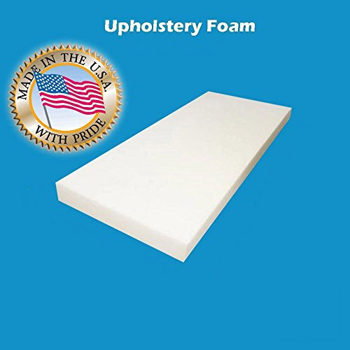 "2"" x 30"" x 72""Upholstery Foam Cushion High Density (Seat Replacement , Upholstery Sheet , Foam Padding)"