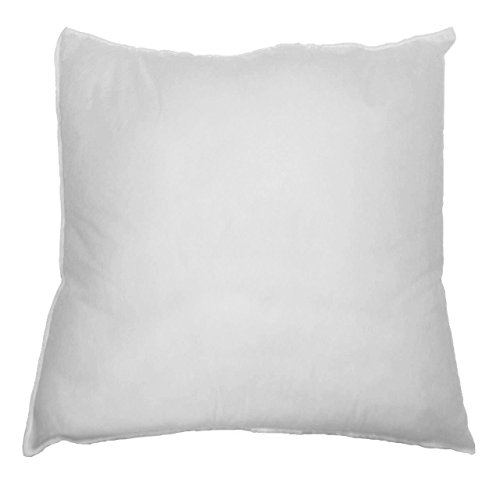 "20"" X 20"" Sham Stuffer Square Pillow Form Insert Polyester, Standard / White"