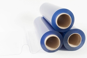 "Clear Marine Vinyl - 54""- 40 Gauge: 10 Yards Wide Sold by The Roll"