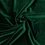 Stretch Velvet Fabric Hunter Green 60'' Wide by the Yard for Sewing Apparel Costumes Craft