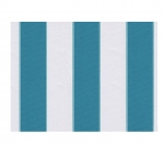 "STRIPE CANVAS AWNING FABRIC WATERPROOF OUTDOOR FABRIC 60"" ( BLUE / WHITE 1, YARDS)"