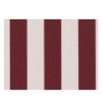 "STRIPE CANVAS AWNING FABRIC WATERPROOF OUTDOOR FABRIC 60"" ( BURGUNDY/WHITE 1, YARDS)"
