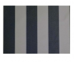 "STRIPE CANVAS AWNING FABRIC WATERPROOF OUTDOOR FABRIC 60"" ( GRAY/COAL 1, YARDS)"