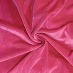 Stretch Velvet Fabric Fuchsia 60'' Wide by the Yard for Sewing Apparel Costumes Craft