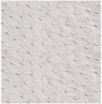 "Mybecca White Pearl Ostrich Vinyl 54"" Wide Textured Faux Leather Great for Upholstery & Bags Sold by The Yard"